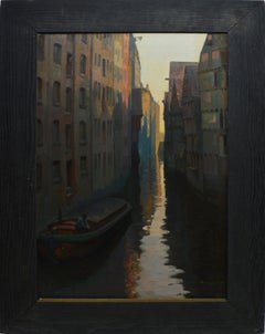 Sunset View of Venice by Charlotte Wilhelmine Niels