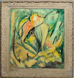 Tropical Abstract Landscape by Mildred Tommy Atkin