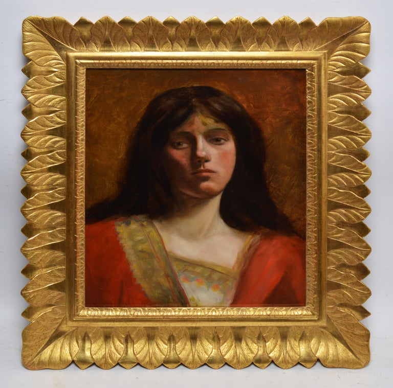 19th Century American School Portrait - Painting by Unknown