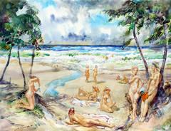 Nude Beach Virgin Islands