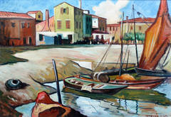 Fishing Town in Chioggia, Italy