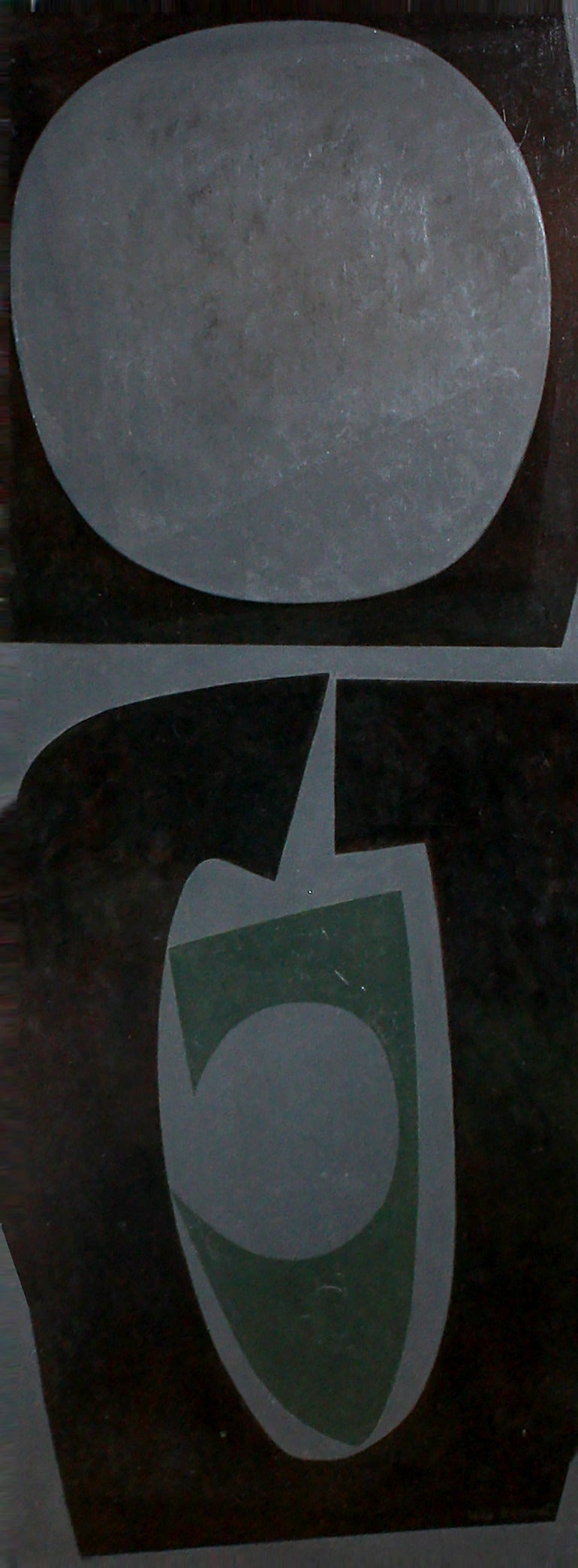 Will Barnet Abstract Painting - Ahab
