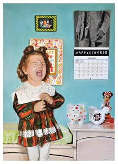 Horrible gifts for children (a Mapplethorpe calendar)