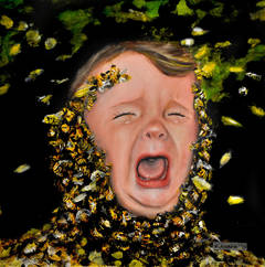Apiphobia (fear of bees)