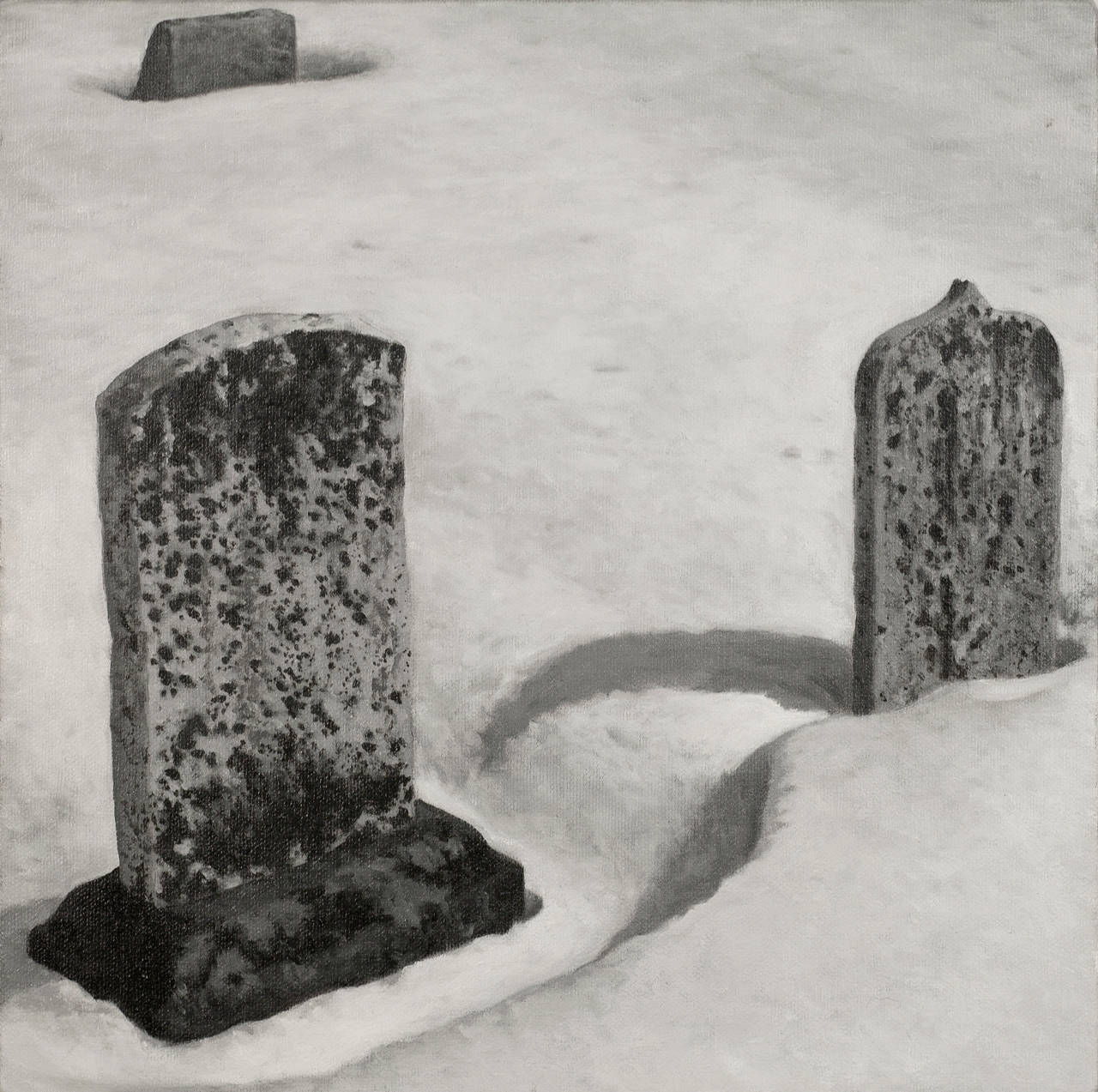 Graves in Snow # 1