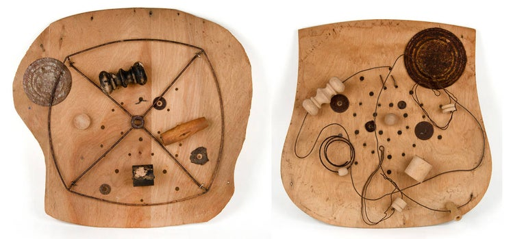 Dianne Baker Abstract Sculpture - Child's Play (I and II)