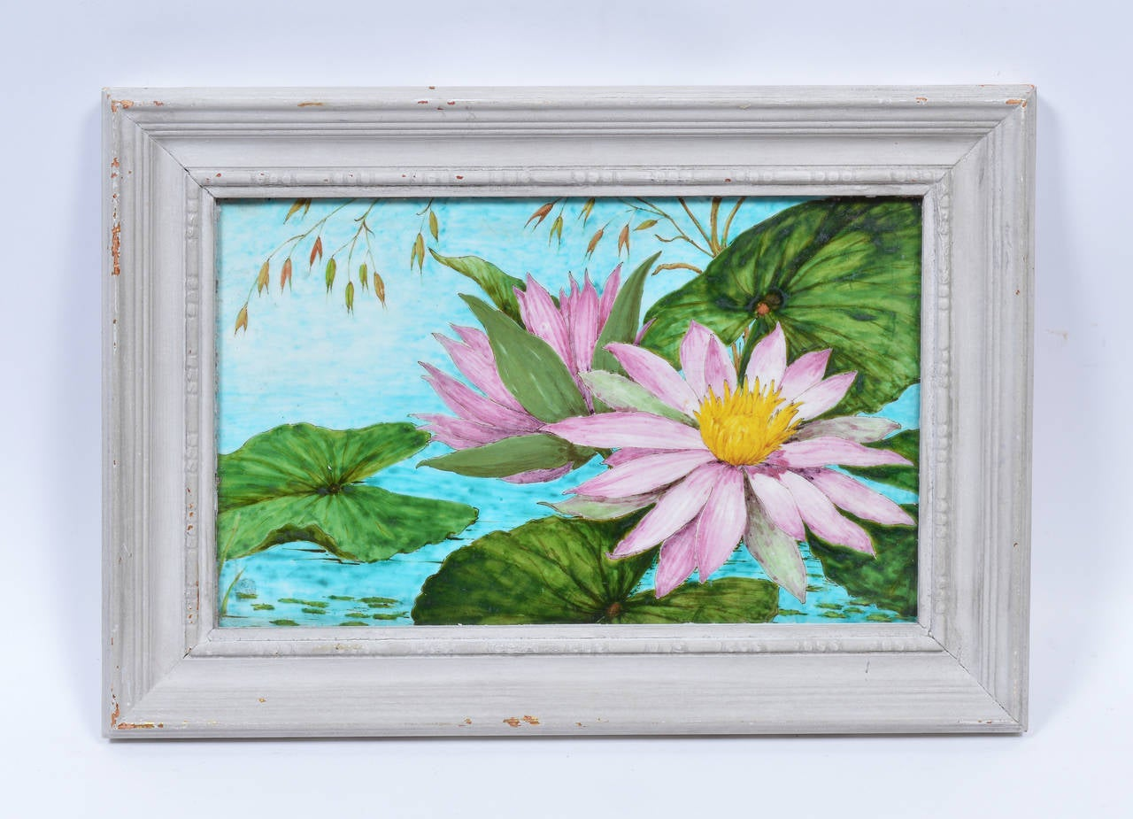 Theodore Deck Lillypads Painting At 1stdibs