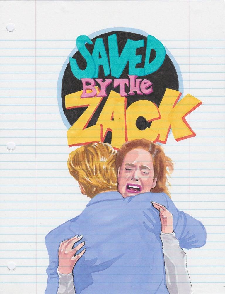 Chuck Tingley Figurative Art - Zack Attack