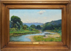 The Trout Stream by Charles Burlingame
