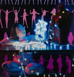 Untitled 001 (Glowing Woman)