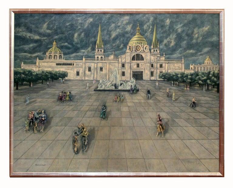 Magic Realism Cityscape