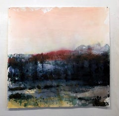 Monica Angle Contemporary Painting Large Scale Landscape Abstract 2014