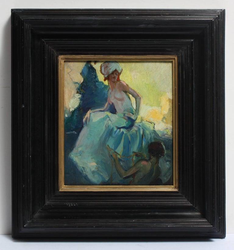 Alexander Oscar Levy Nude Painting - Study for Marjanah