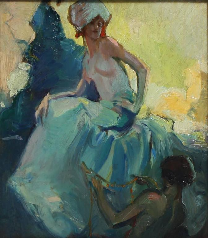Study for Marjanah - Painting by Alexander Oscar Levy