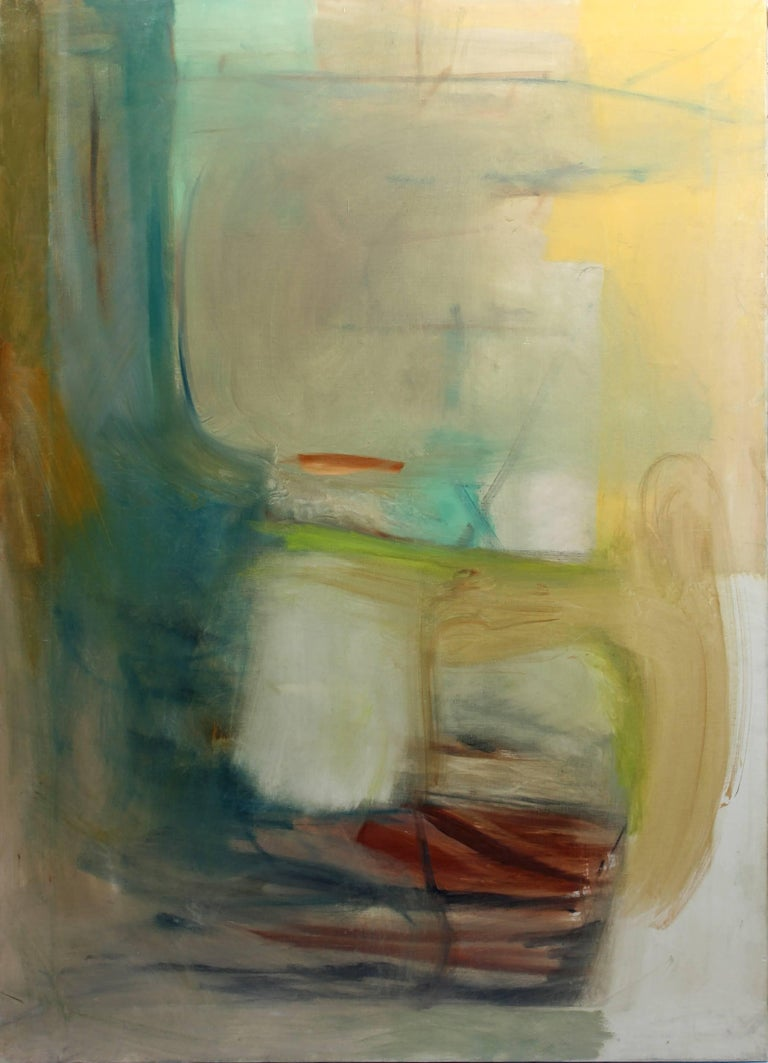 Harriet Holden Nash Abstract Painting - Untitled
