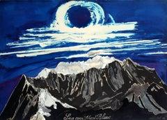 Sun over Mont Blanc