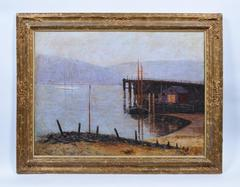 Dock on the Connecticut River, Eugene Bewster