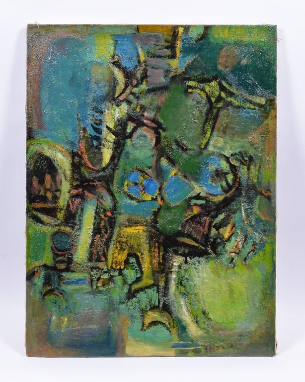 Ben Wilson Abstract Painting - Abstract Figures