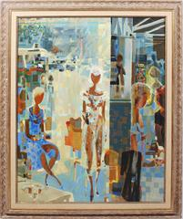 """""""Lunch in the Marais"""" by Pierre Lelong"""