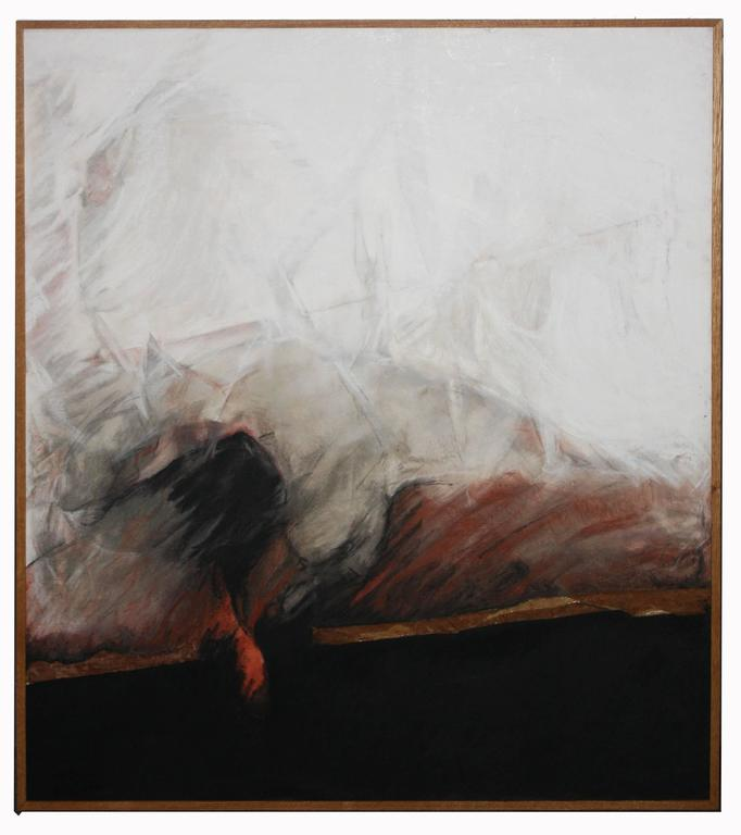Canyon Series # 2 - Abstract Expressionist Painting by Adele Cohen