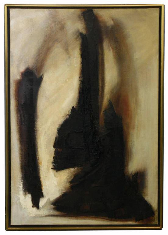 Untitled - Painting by Adele Cohen