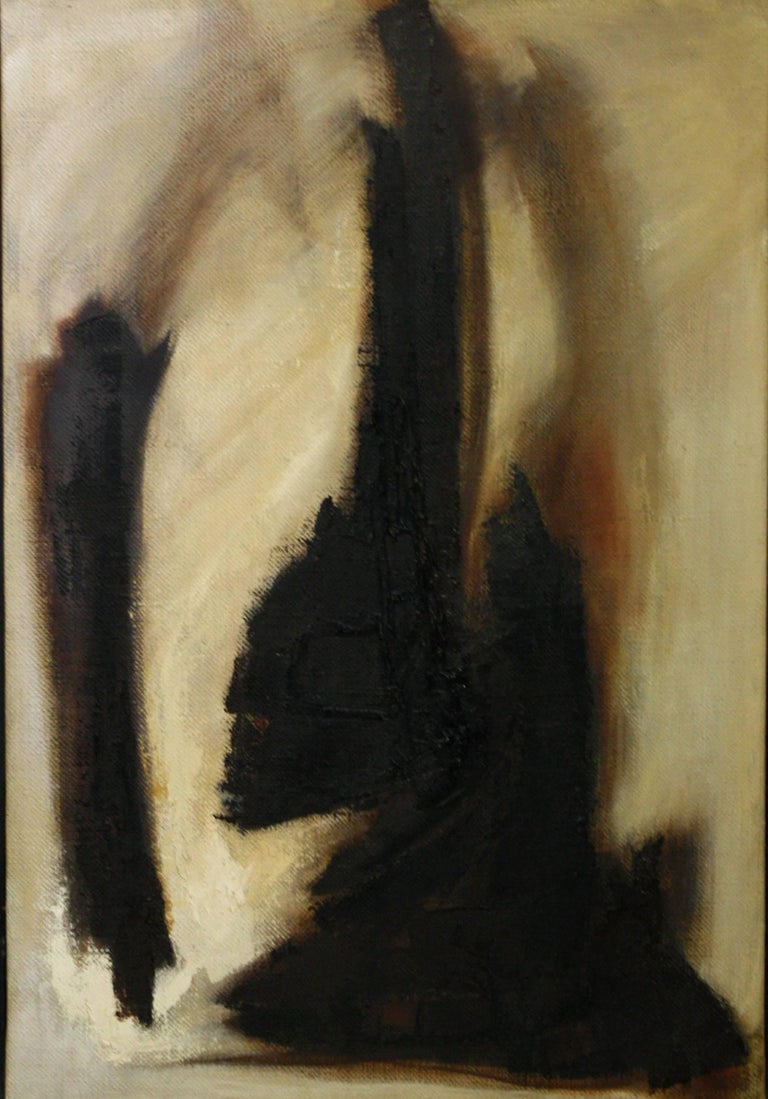 Adele Cohen Abstract Painting - Untitled