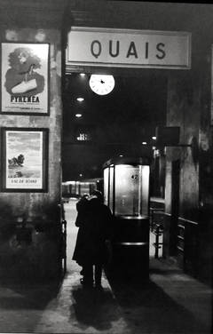 Henri Cartier-Bresson - Quais, Paris 1958