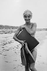 Bathing Suit with Fins, Hyannis Port