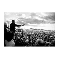 """Campaigning in Kansas"" John F. Kennedy"