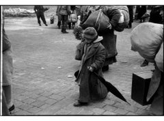 Dessau. Germany, (Russian Child released from a concentration camp)