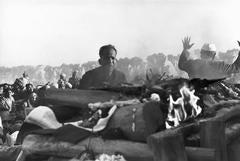 Gandhi, Funeral Pyre, Delhi, India