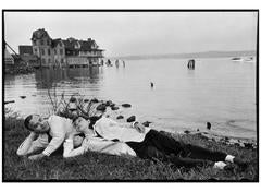 George Davis and Carson McCullers, Writers, Long Island, New York, USA