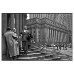 Near the Hall of Records, New York