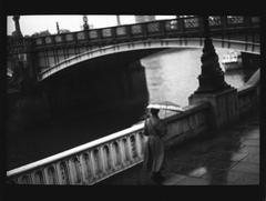 Woman, Lambeth Bridge
