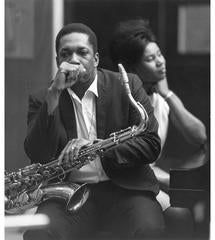John & Alice Coltrane, Englewood Cliff, New Jersey