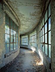 Isolation Ward, Curved Corridor, Island 3 Ellis Island