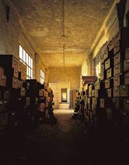 Measles Ward, Oak File Cabinets, Island 3 Ellis Island
