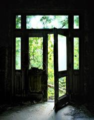 Corridor 9, Doorway, Island 3 Ellis Island