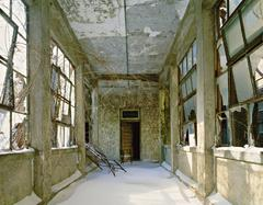 Snow-Covered Corridor, Island 3 Ellis Island