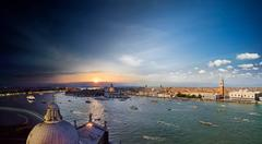 Campanile San Giorgio, Venice, Day to Night
