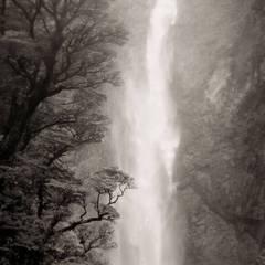 Waterfall, Southern Alps, NZ