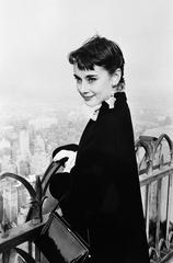 Audrey Hepburn, Rockefeller Tower, New York