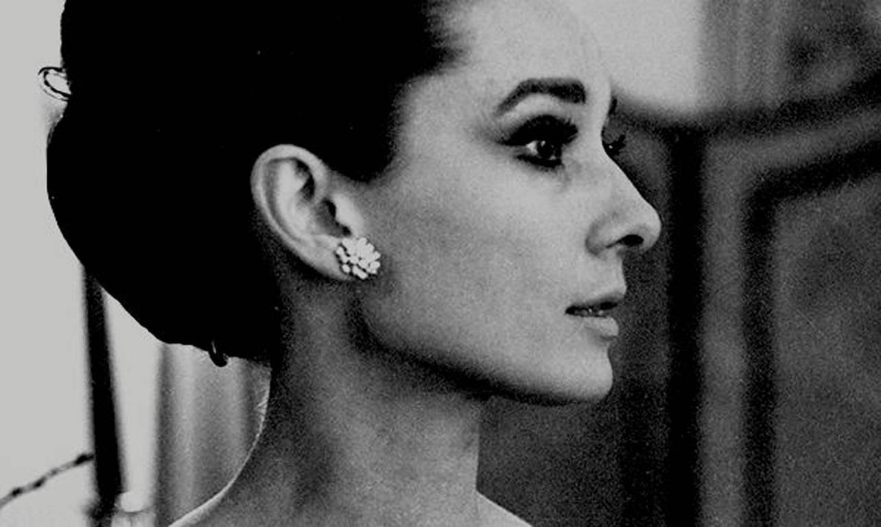 Angela williams audrey hepburn the ritz paris profile no 6 photograph for sale at 1stdibs
