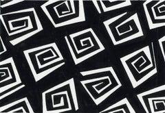 Fabric Design (Black and White)