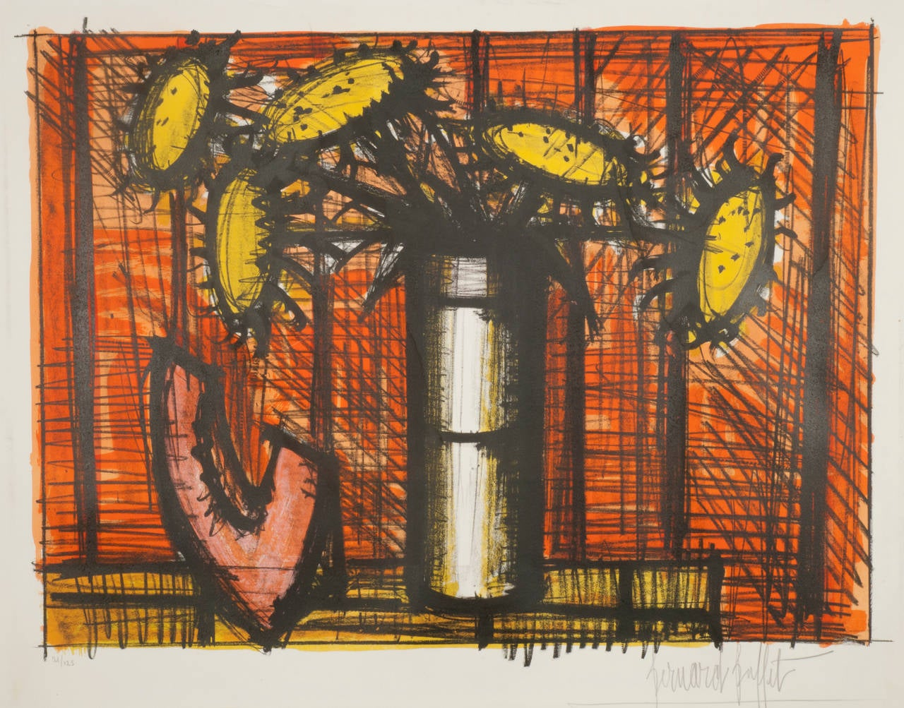 Bernard Buffet - Tournesols et Melon, Print For Sale at ...