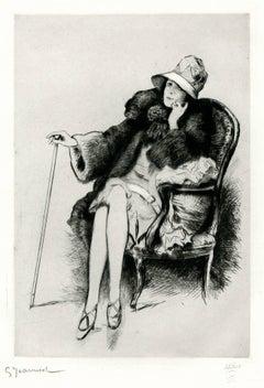 Femme Assie