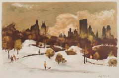 Central Park Winter (or Snow in Central Park)