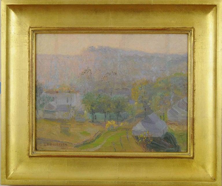 Louis Oscar Griffith Landscape Painting - Nashville at Sunrise