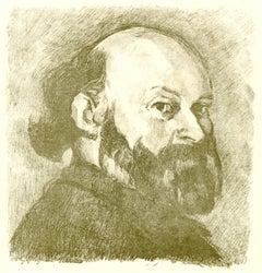 Portrait De Cezanne