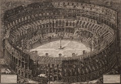 The Colosseum, Bird's Eye View (Veduta dell' Anfiteatro Flavio detto il Colosseo